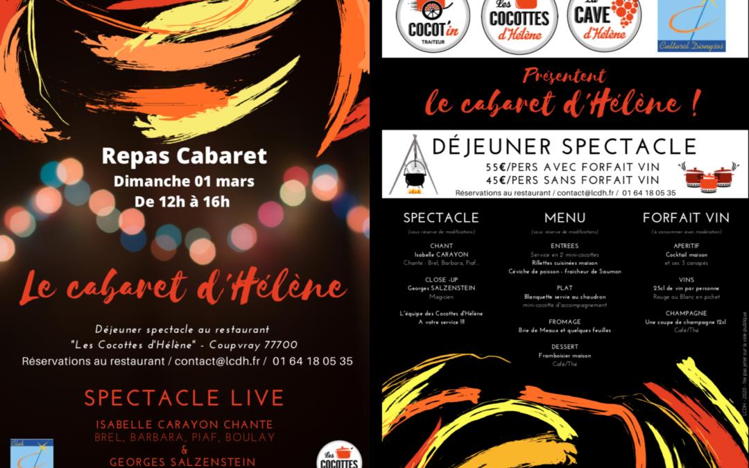 Le Cabaret d'Hélène – 01 mars 2020